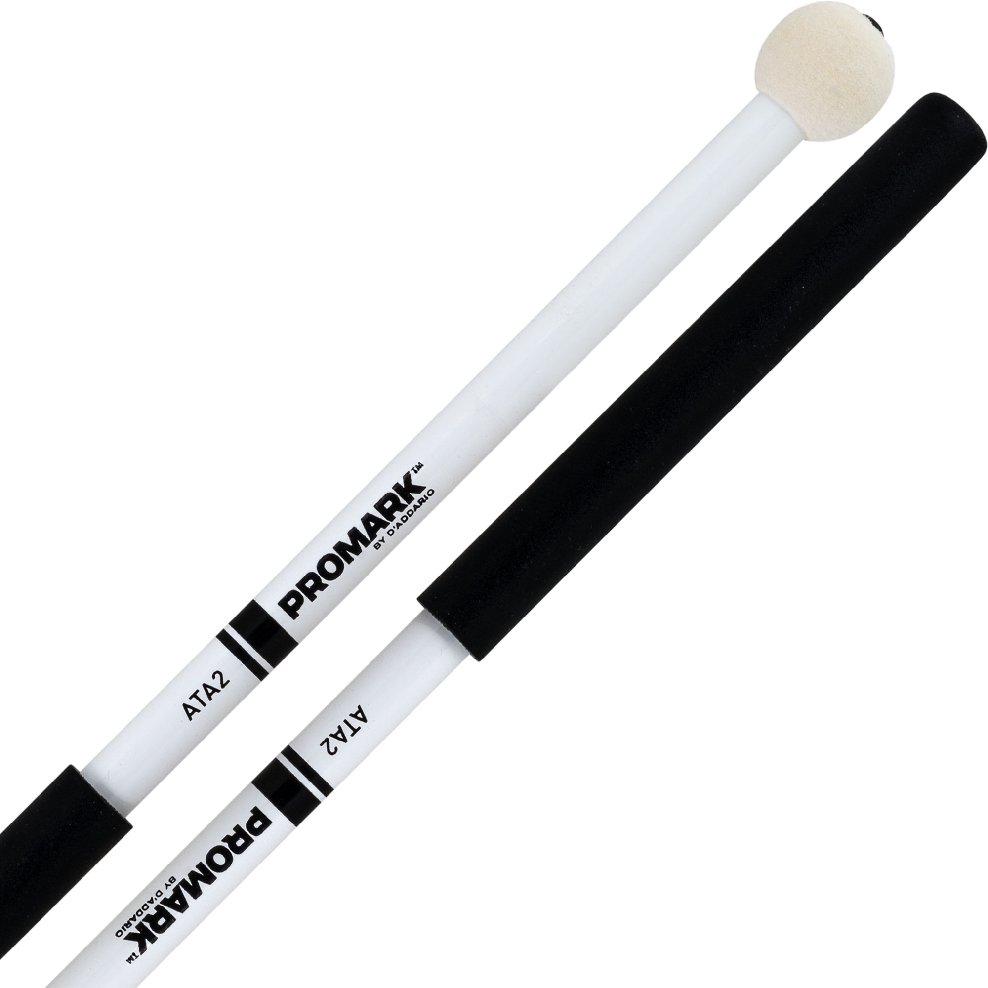 Promark ATA2 AT Marching Series Felt Marching Tenor Mallets