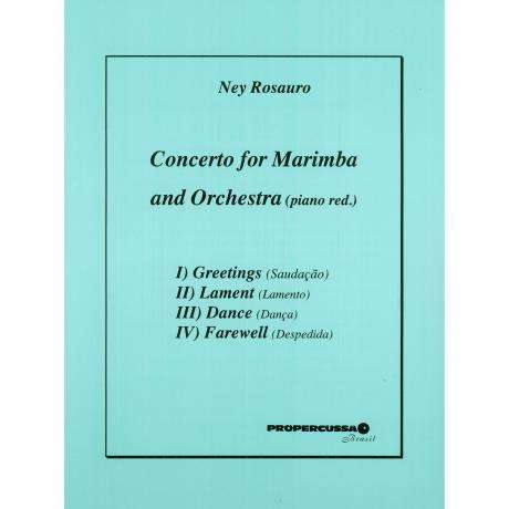 Concerto for Marimba and Orchestra (Piano Reduction) by Ney Rosauro