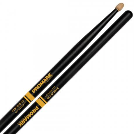 Promark Rebound 5B ActiveGrip Drum Sticks with Acorn Tips