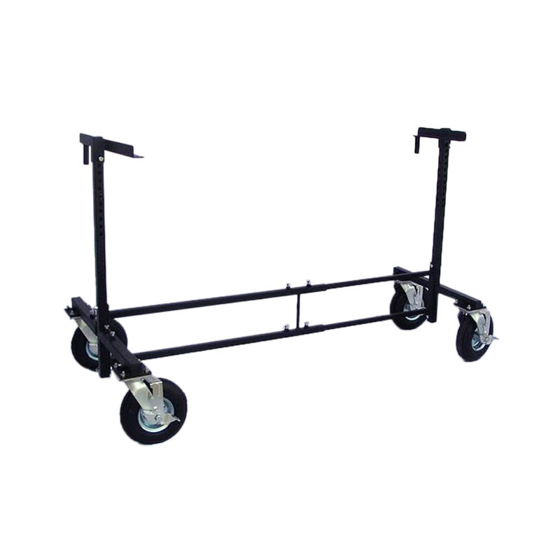 "Pyle All Terrain Glock/Bell Cart with 8"" Flat Free Tires"