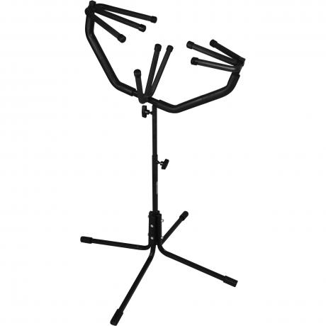Pyle Crash Cymbal Holder Stand (Holds One Pair of Cymbals)