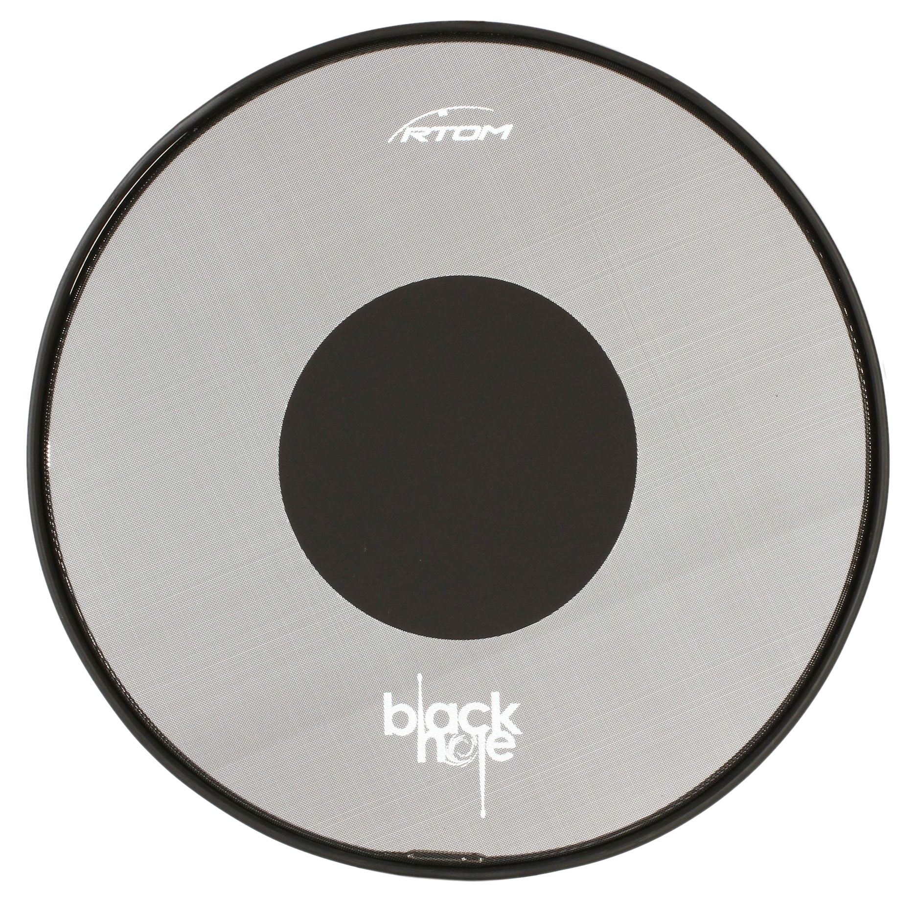 "RTOM 22"" Black Hole Snap-On Bass Drum Practice Pad"