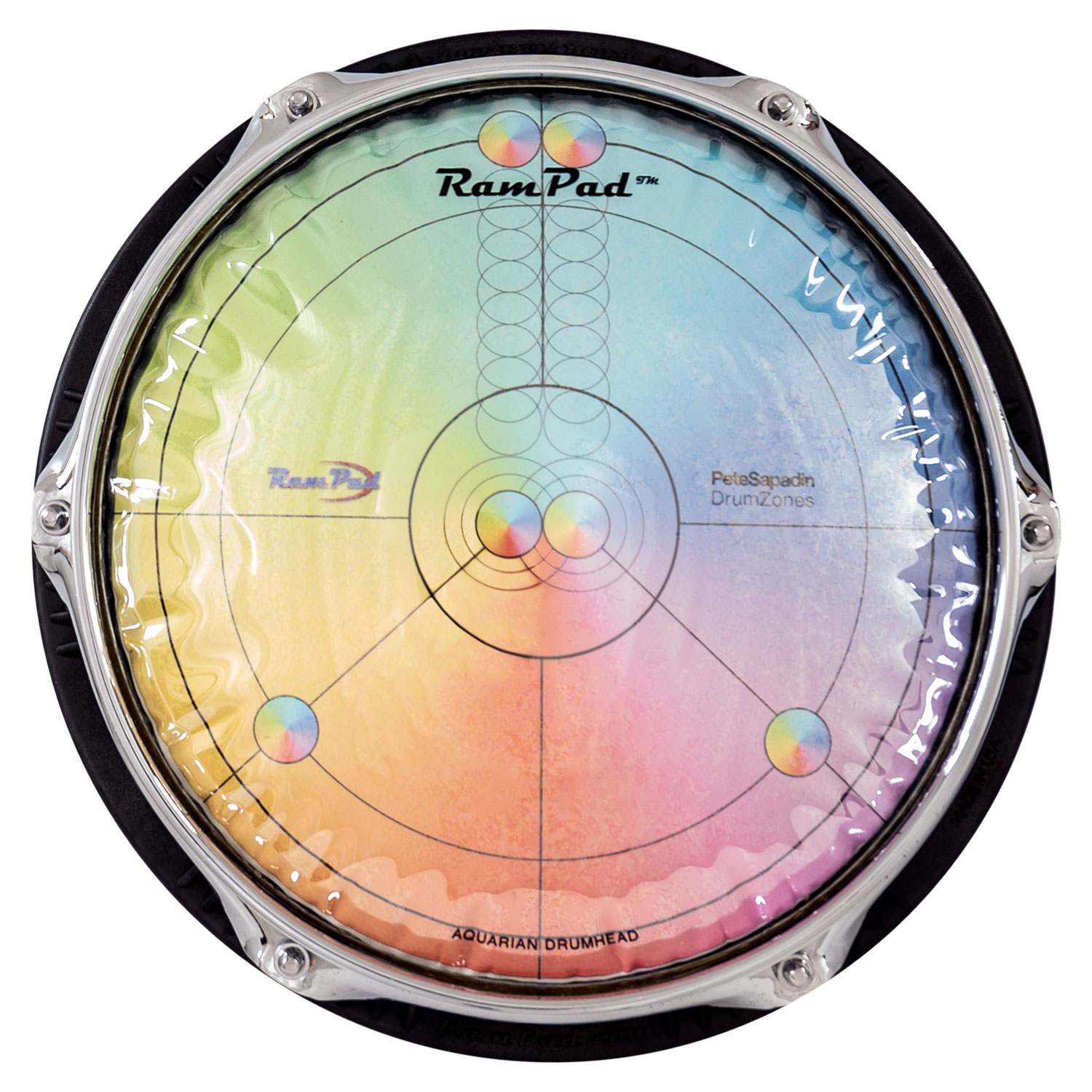 """Rampad 10"""" Rampad Pro with Color Wheel Surface and Playing Zones"""