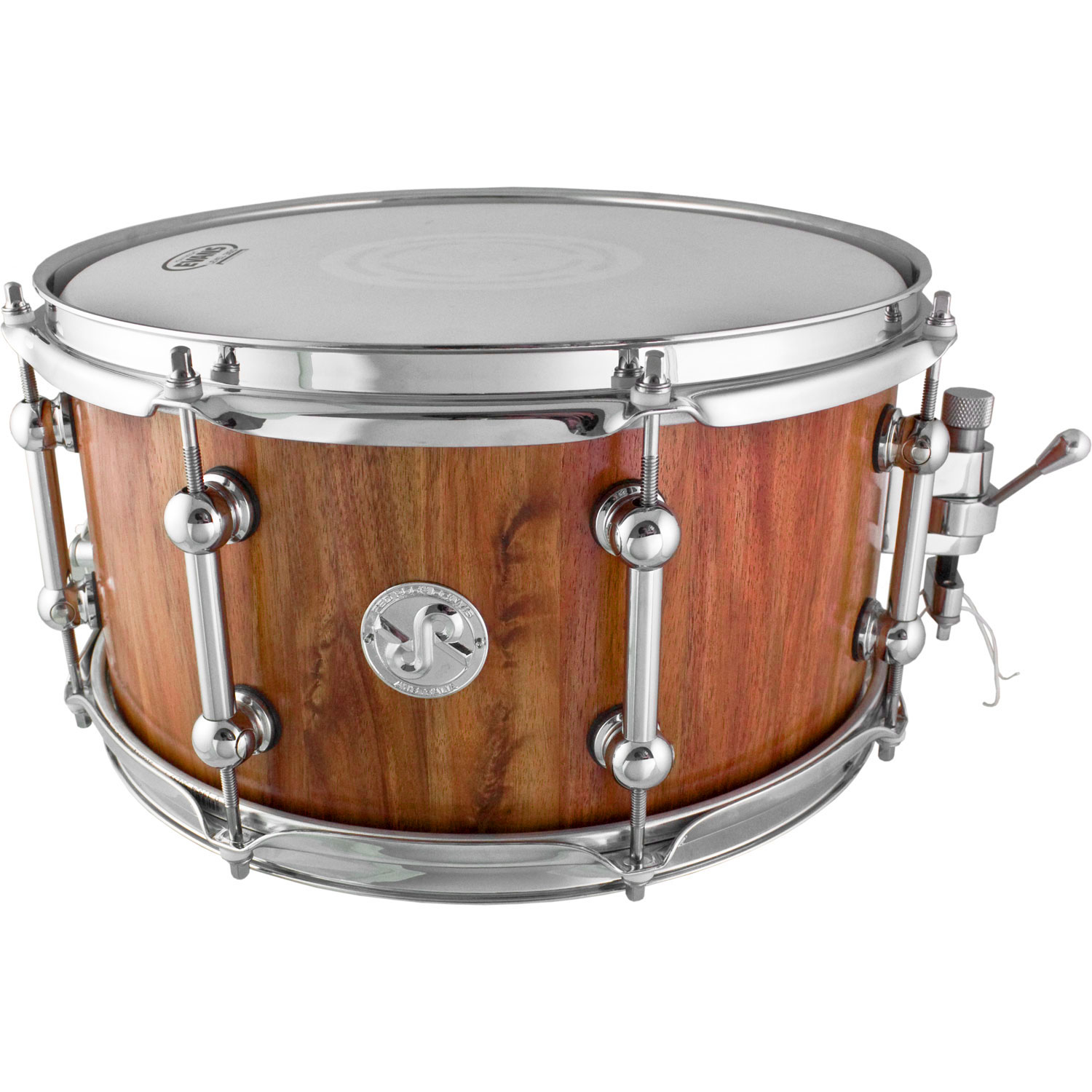 "Red Rock Drums 7"" x 13"" Tasmanian Blackwood Snare Drum"