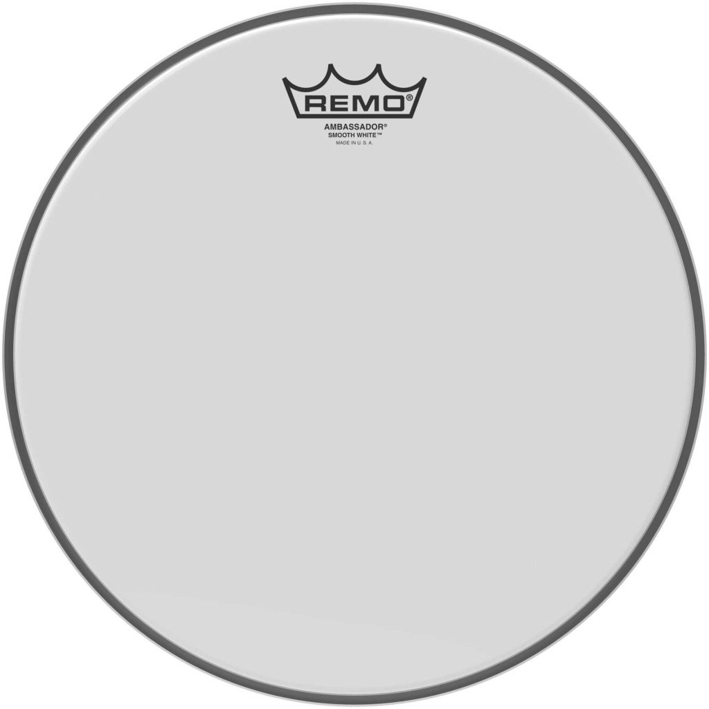 """Remo 14"""" Diplomat Smooth White Drum Head"""