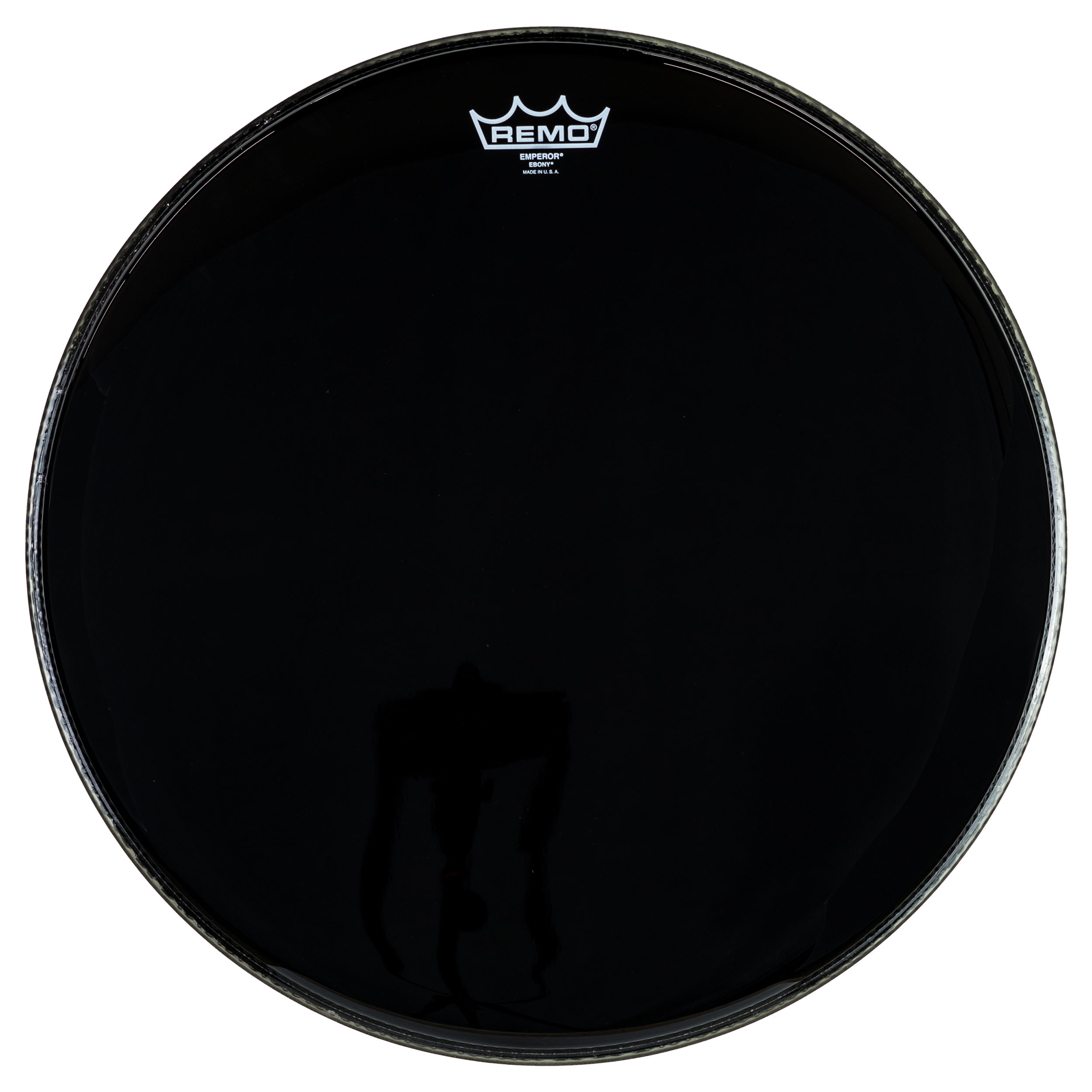 "Remo 18"" Emperor Ebony Drum Head"