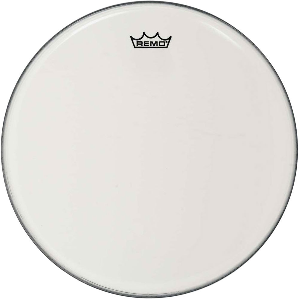 "Remo 24"" Ambassador Smooth White Bass Drum Head"