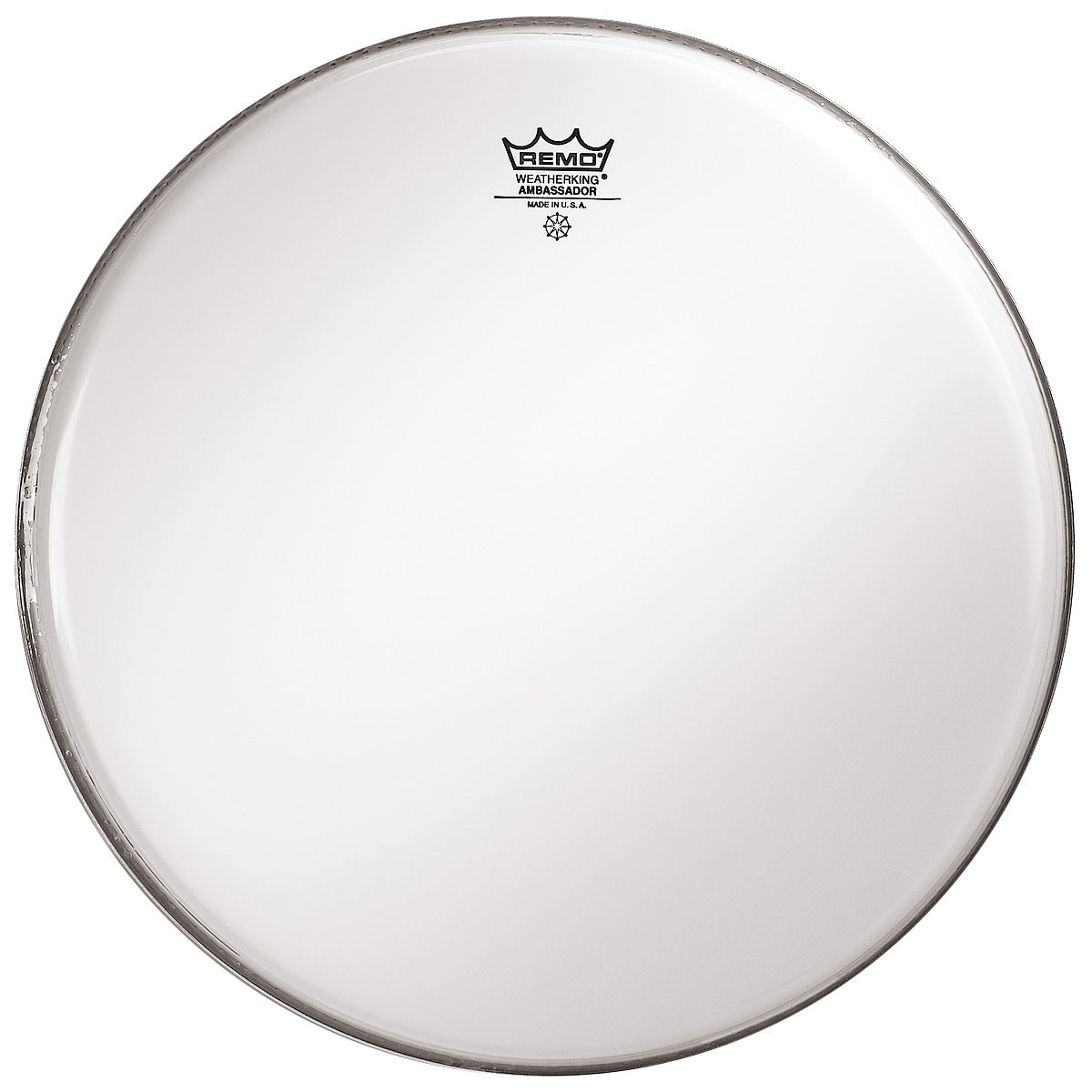 "Remo 32"" Ambassador Smooth White Concert Bass Drum Head"