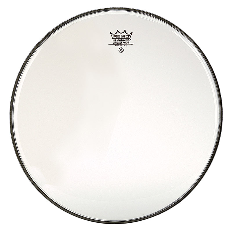 "Remo 30"" Ambassador Clear Concert Bass Drum Head"