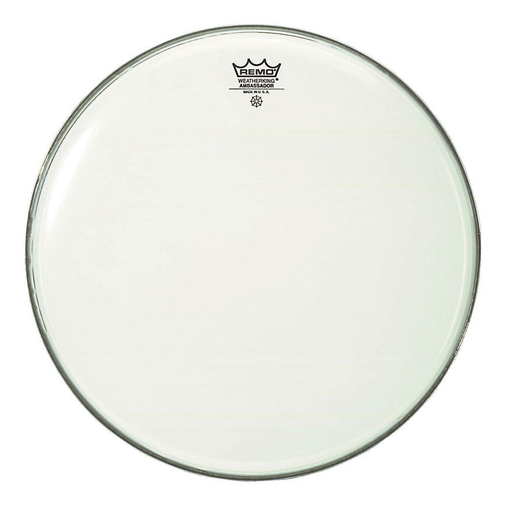 "Remo 34"" Ambassador Smooth White Concert Bass Drum Head"