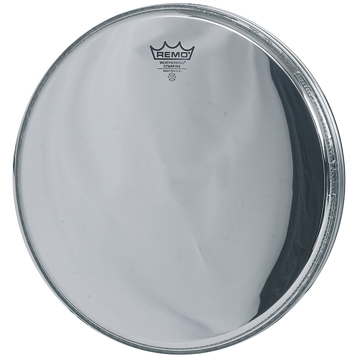 "Remo 16"" Ambassador Starfire Chrome Bass Drum Head"