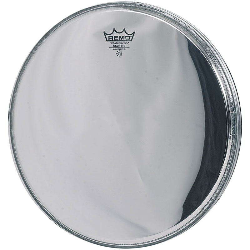"Remo 20"" Ambassador Starfire Chrome Bass Drum Head"