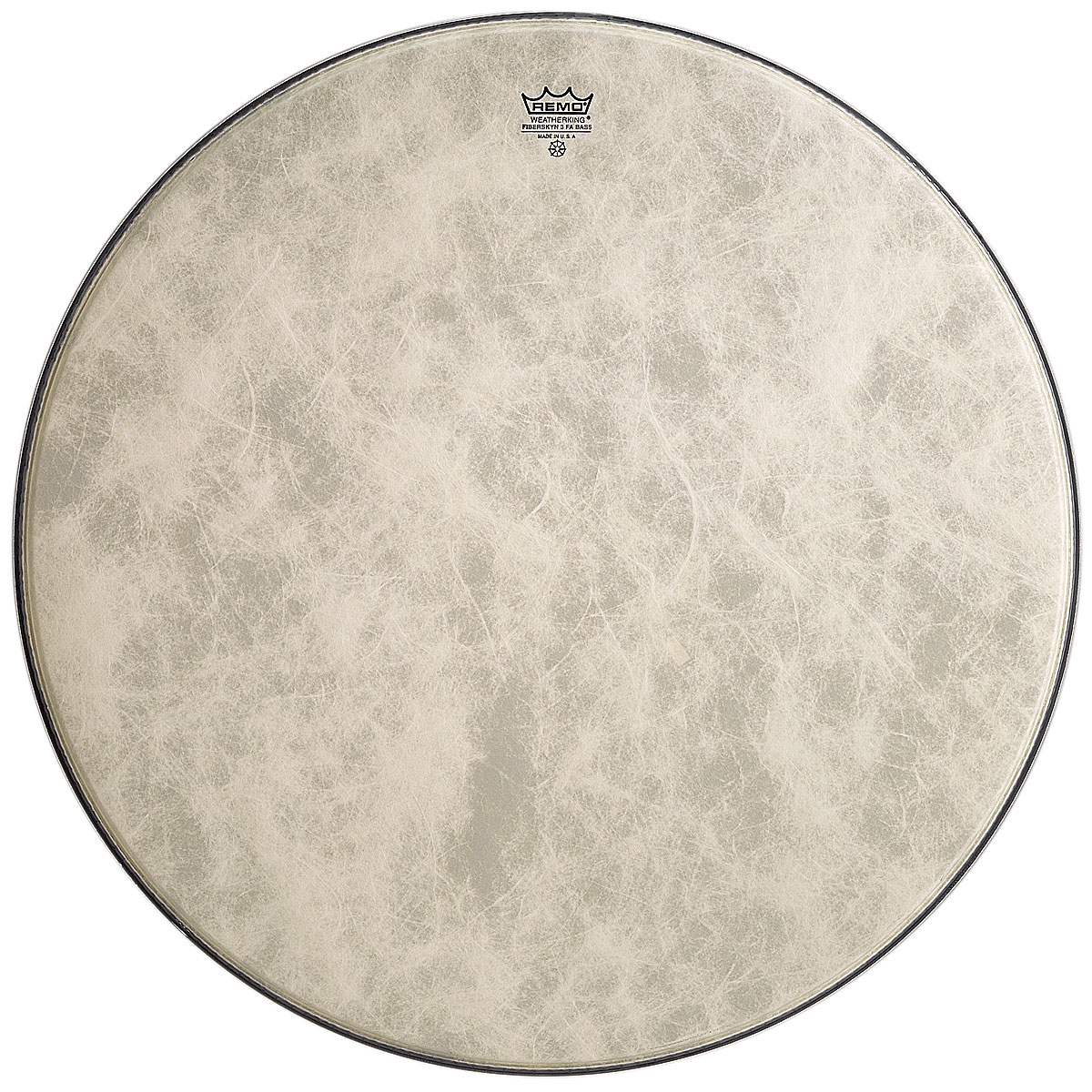 "Remo 16"" Ambassador Fiberskyn Bass Drum Head"