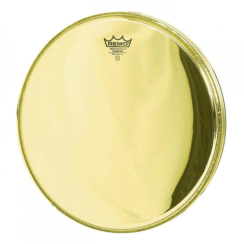 "Remo 18"" Ambassador Starfire Gold Bass Drum Head"