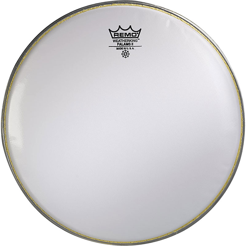 """Remo 14"""" Falams Marching Snare Drum Top (Batter) Head"""