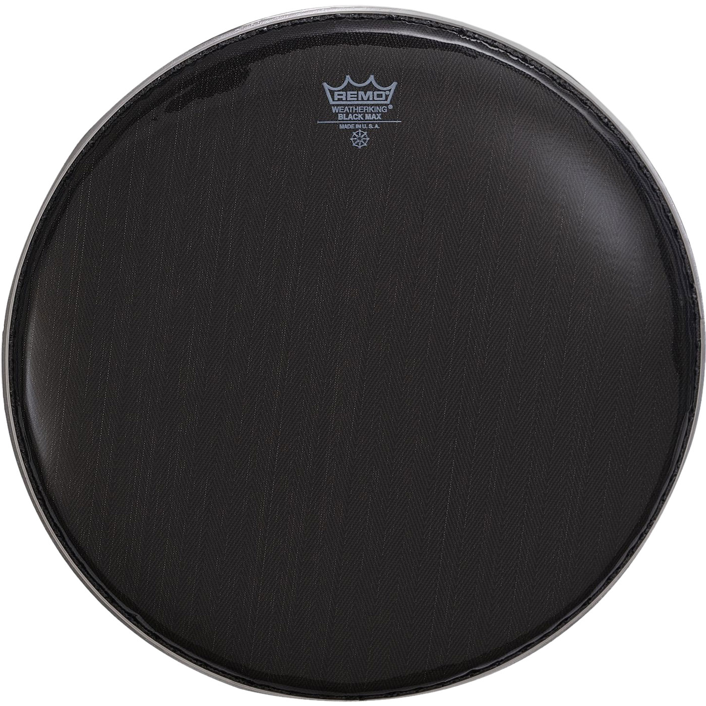 "Remo 14"" Black Max Marching Snare Drum Top (Batter) Head"