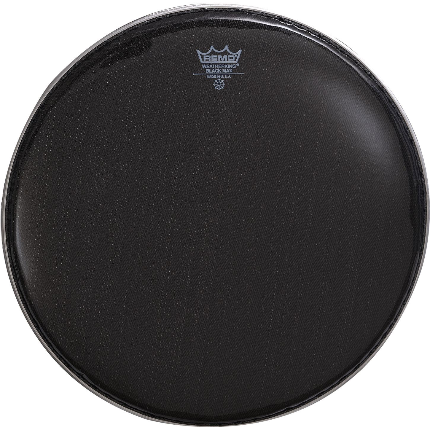 "Remo 13"" Black Max Marching Snare Drum Top (Batter) Head"