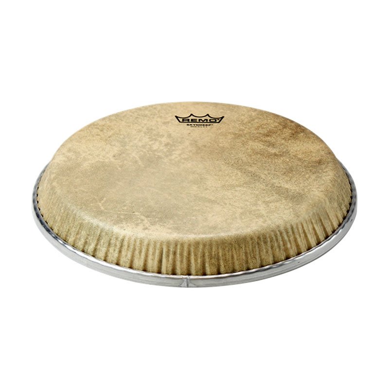 """Remo 13"""" Low Collar Symmetry Skyndeep Conga Drum Head with Calfskin Graphic"""