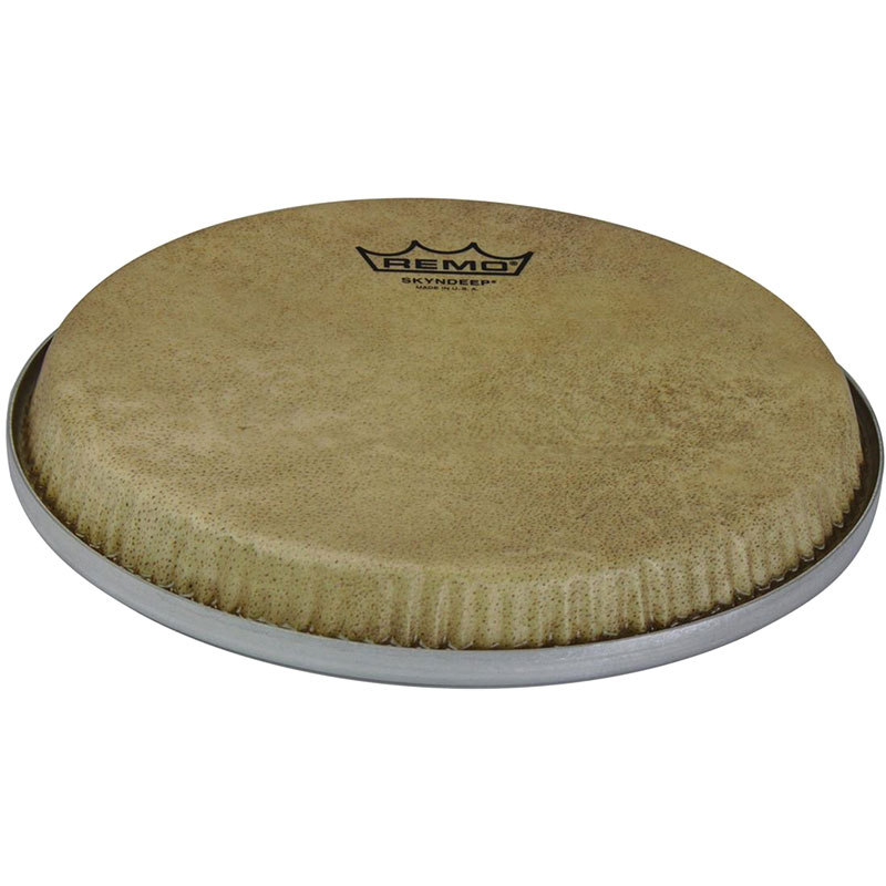 """Remo 8.5"""" R-Series Low Collar Skyndeep Bongo Head with Calfskin Graphic"""