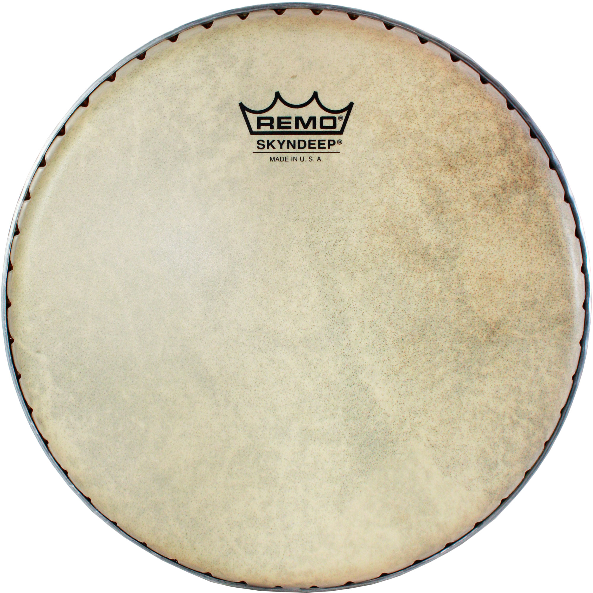 """Remo 9.75"""" Symmetry Skyndeep Conga Drum Head (D1 Collar) with Calfskin Graphic"""