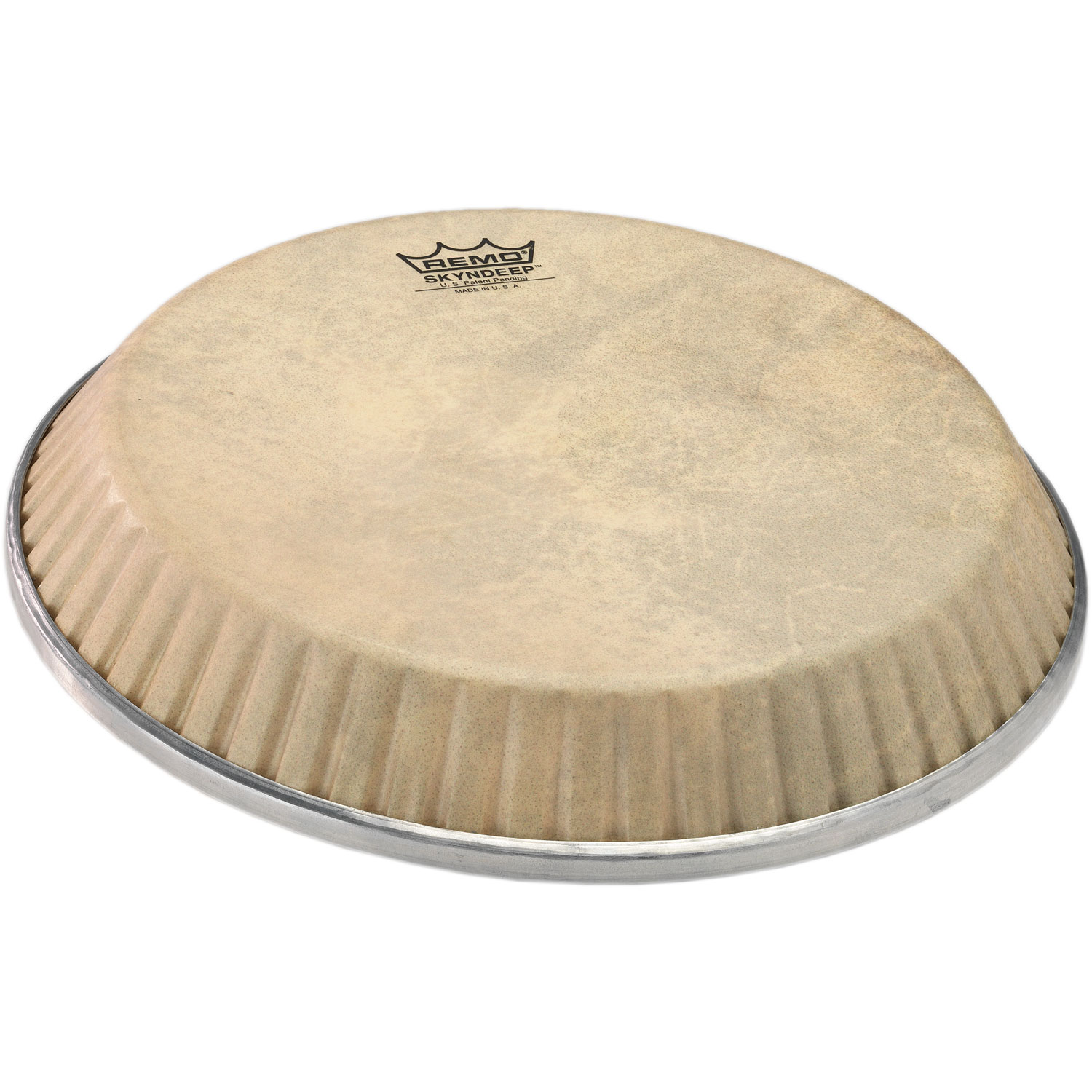 """Remo 13"""" Symmetry Skyndeep Conga Drum Head (D1 Collar) with Calfskin Graphic"""