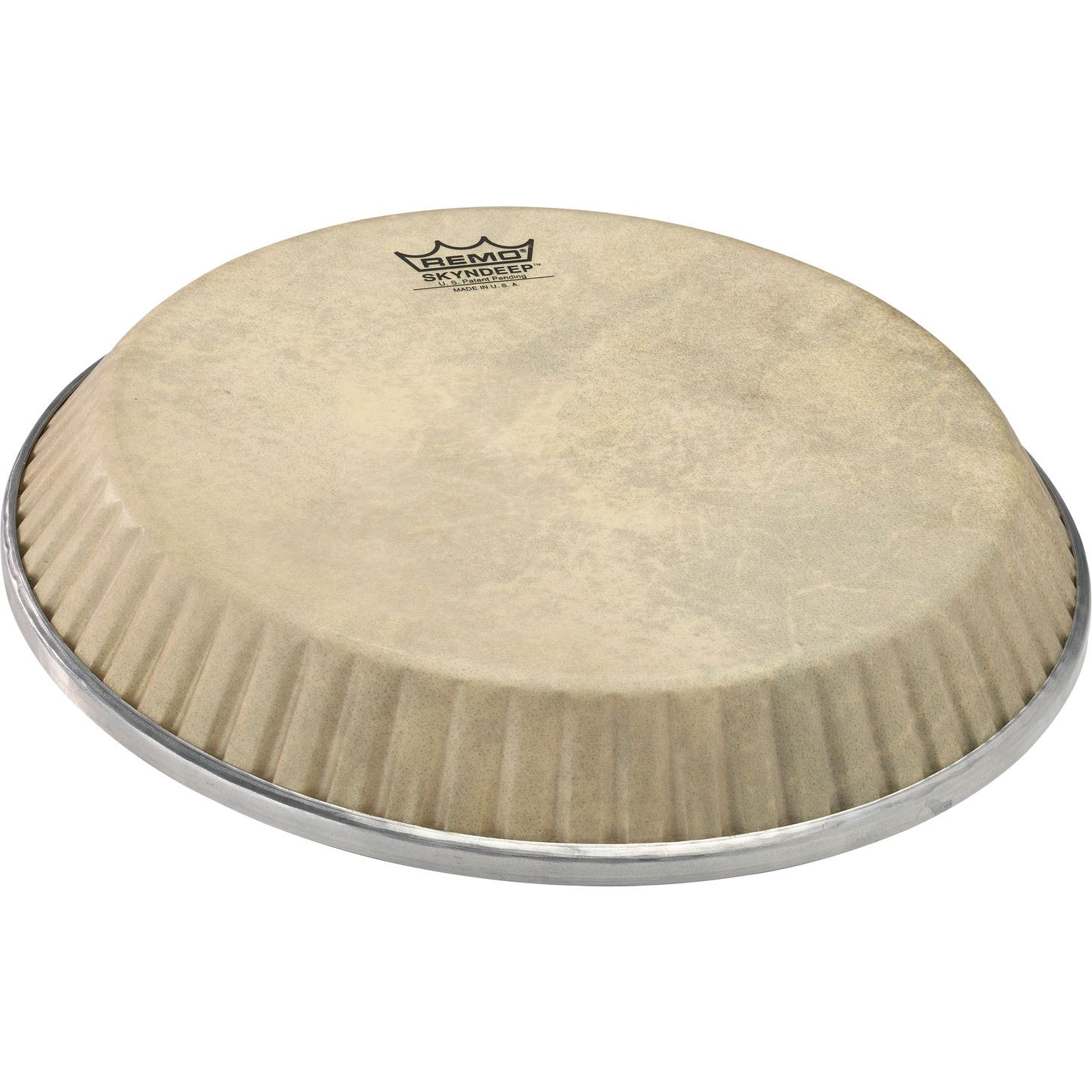 """Remo 11.06"""" Symmetry Skyndeep Conga Drum Head (D1 Collar) with Calfskin Graphic"""
