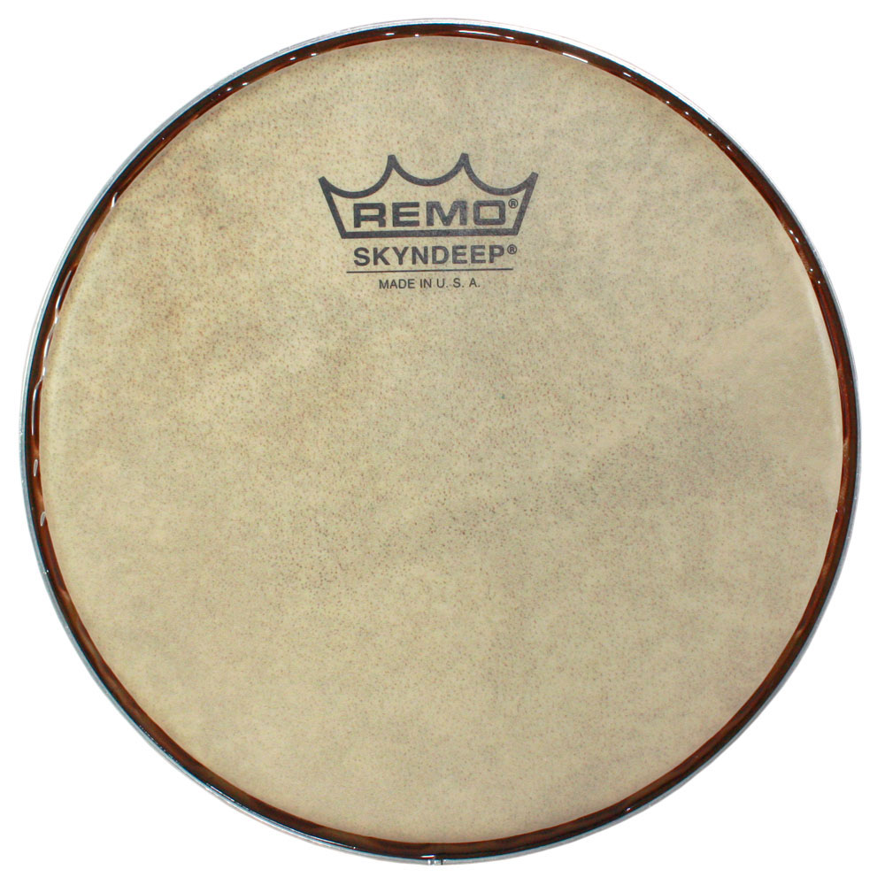 "Remo 8.5"" R-Series Skyndeep Bongo Drum Head with Calfskin Graphic"