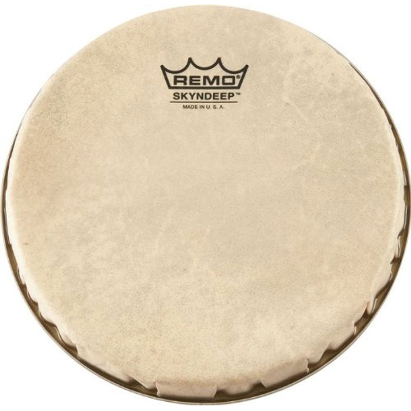 "Remo 9"" R-Series Skyndeep Bongo Drum Head with Calfskin Graphic"