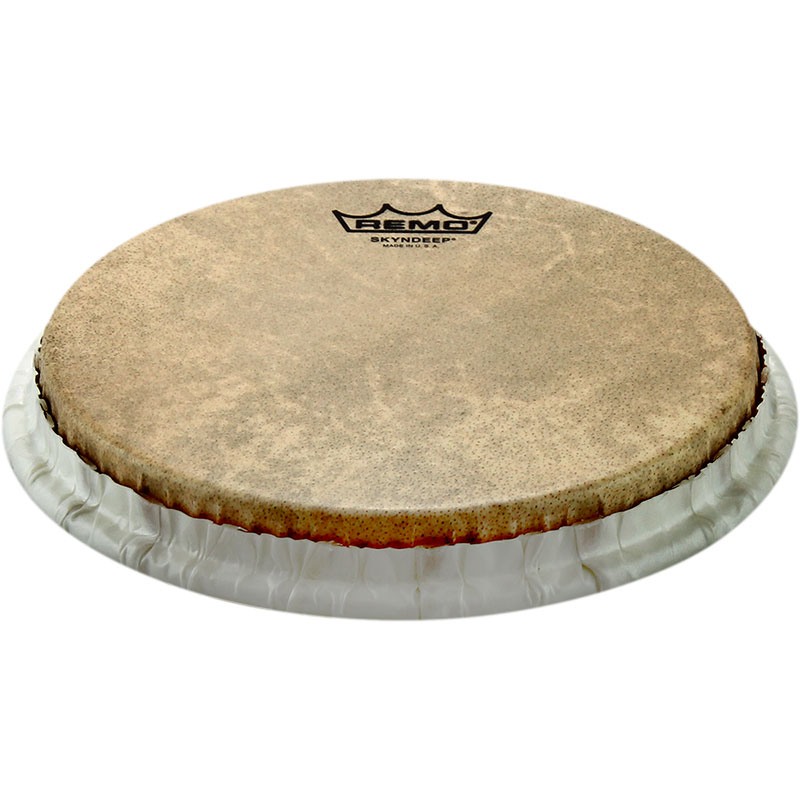 """Remo 11.06"""" Tucked Skyndeep Conga Drum Head with Calfskin Graphic"""