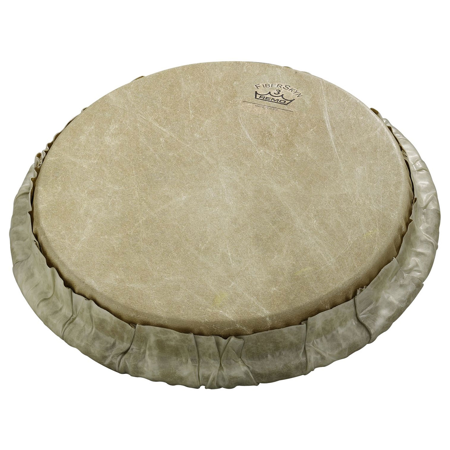 "Remo 9"" Tucked Skyndeep Bongo Drum Head with Calfskin Graphic"