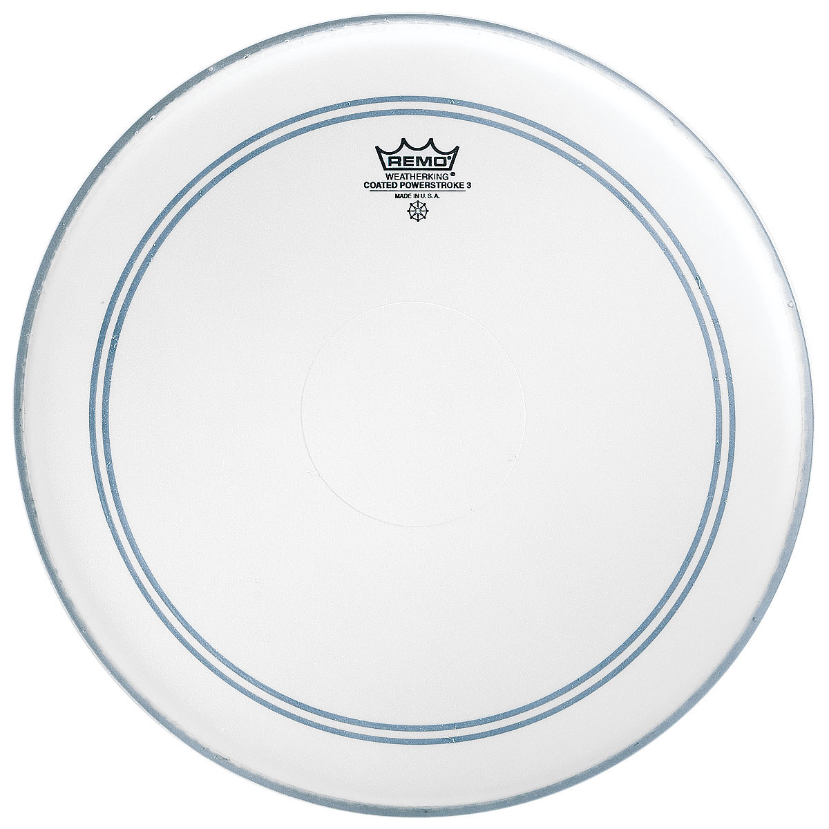 "Remo 13"" Powerstroke P3 Coated Drum Head with Clear Dot"