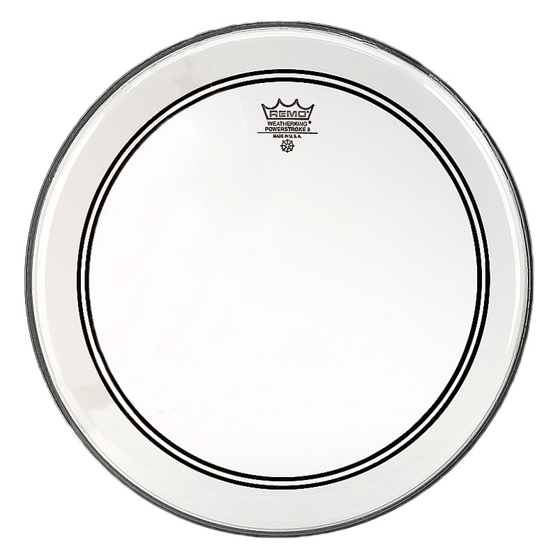 "Remo 12"" Powerstroke P3 Clear Drum Head"