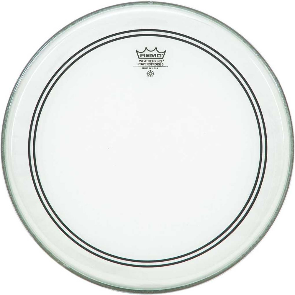 """Remo 14"""" Powerstroke P3 Clear Drum Head"""