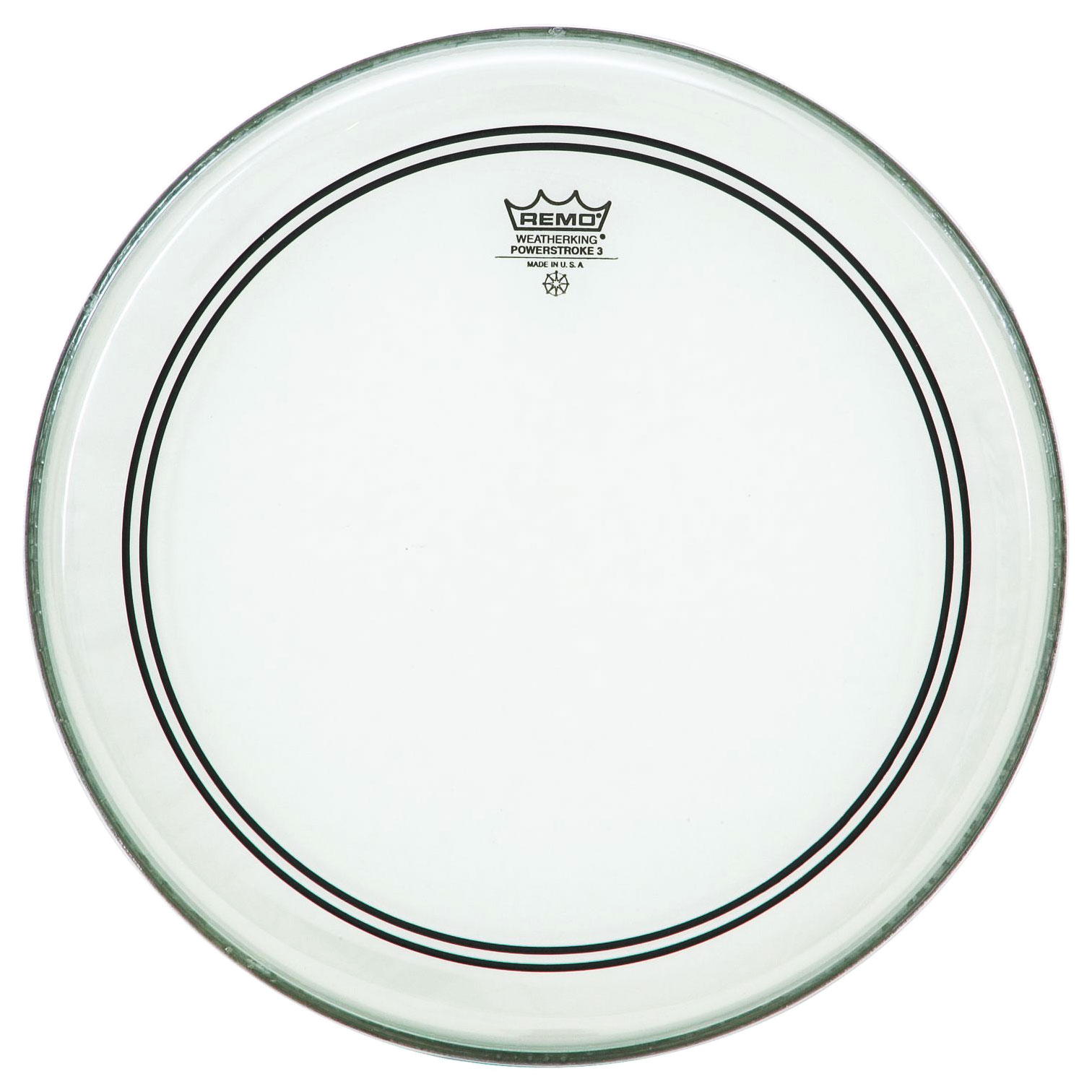 """Remo 8"""" Powerstroke P3 Clear Drum Head"""