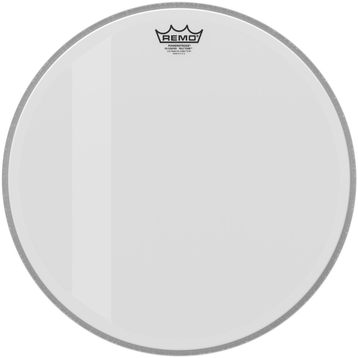 "Remo 18"" Powerstroke P3 Coated Felt Tone Bass Drum Head"