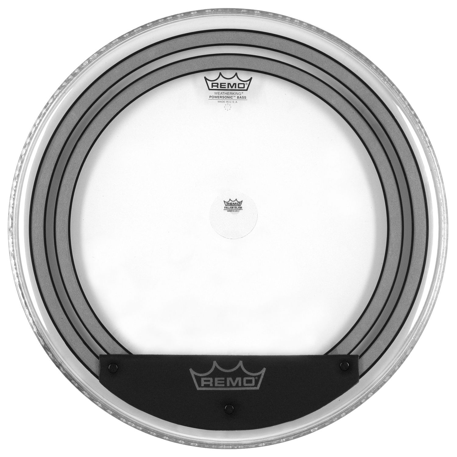 """Remo 18"""" Powersonic Clear Bass Drum Head"""