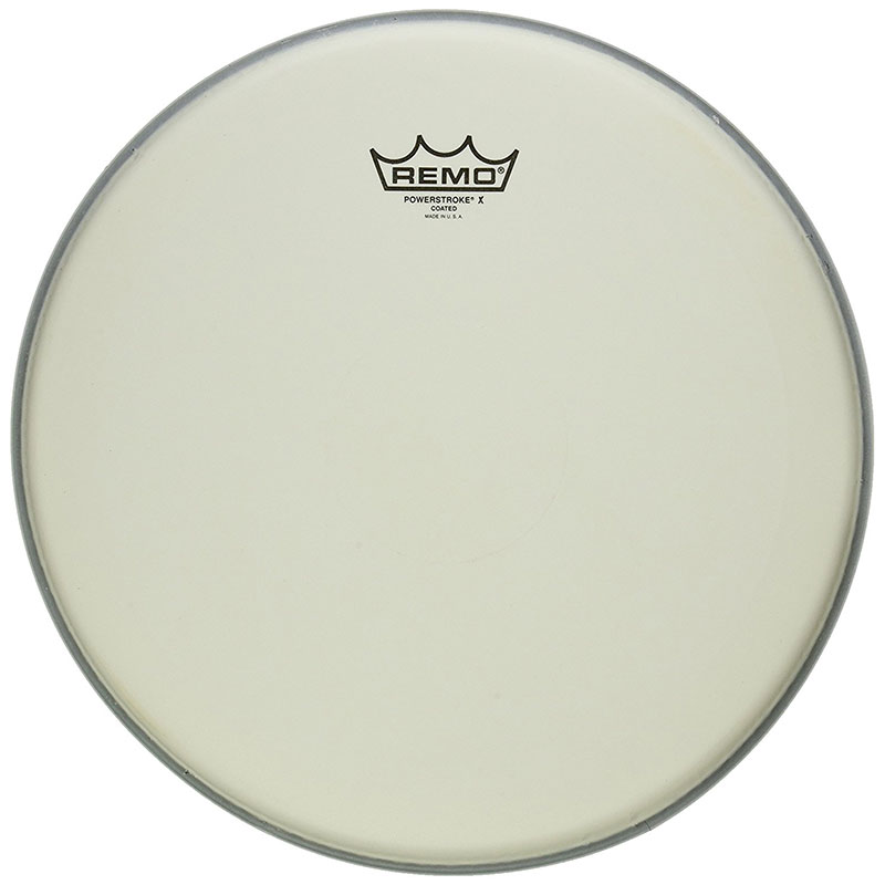 """Remo 14"""" Powerstroke P3 X Coated Drum Head with Clear Dot"""