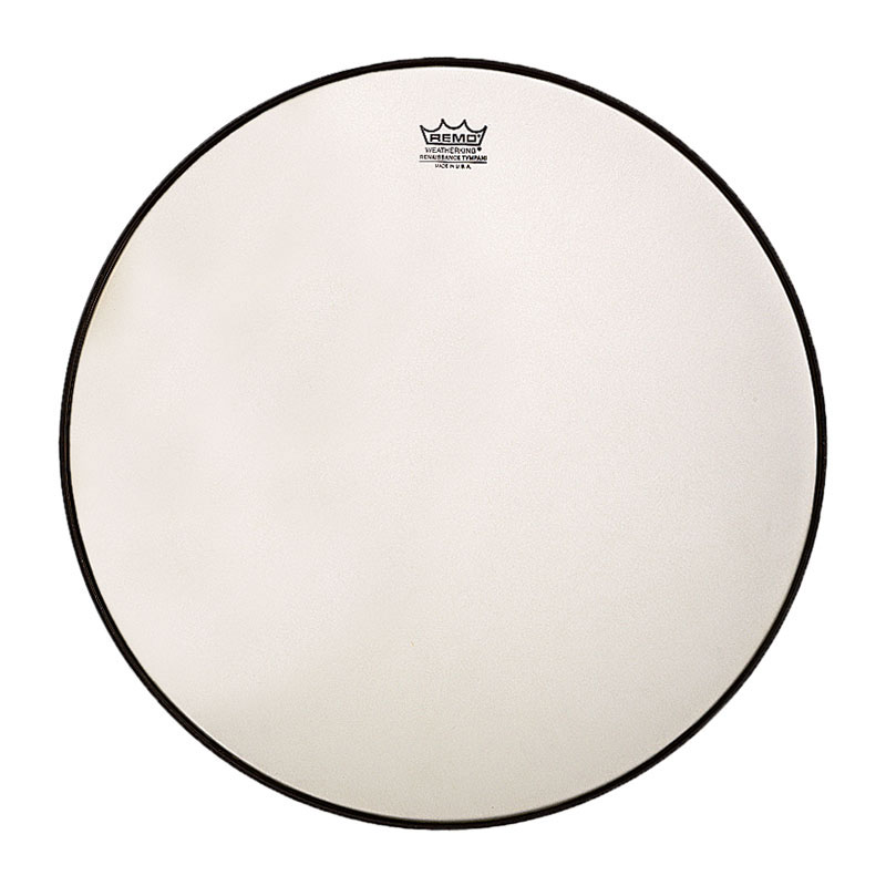 """Remo 22.5"""" RC-Series (Renaissance) Hazy Timpani Head with Low-Profile Steel Insert Ring"""