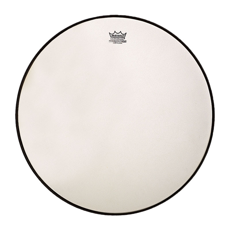 """Remo 34"""" RC-Series (Renaissance) Hazy Timpani Head with Low-Profile Steel Insert Ring"""