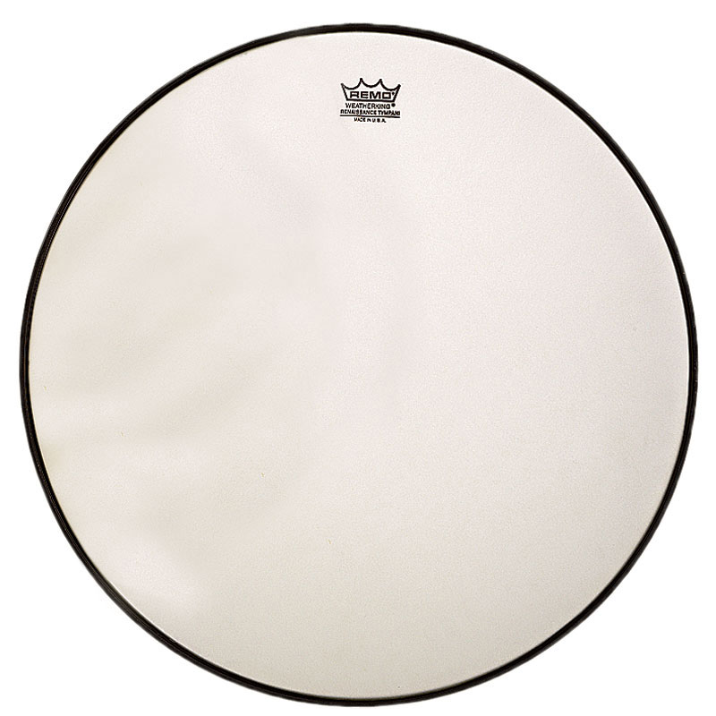 """Remo 24.25"""" RC-Series (Renaissance) Hazy Timpani Head with Low-Profile Steel Insert Ring"""
