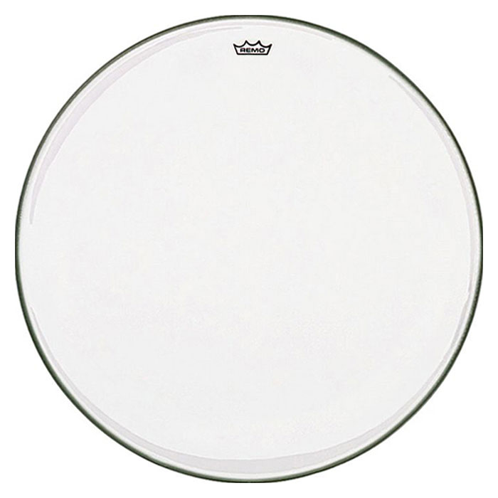 """Remo 25"""" RC-Series (Renaissance) Clear Timpani Head with Low-Profile Steel Insert Ring"""