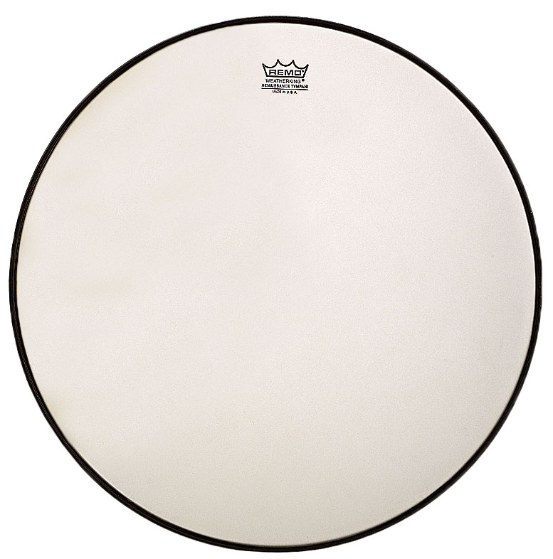 """Remo 26"""" RC-Series (Renaissance) Clear Timpani Head with Low-Profile Steel Insert Ring"""