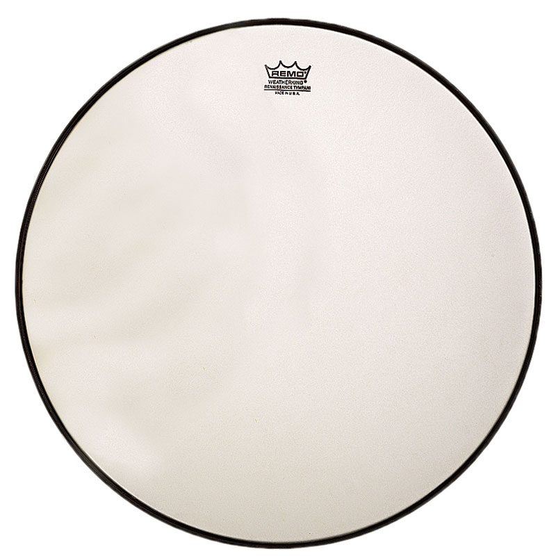 """Remo 33"""" RC-Series (Renaissance) Hazy Timpani Head with Low-Profile Steel Insert Ring"""