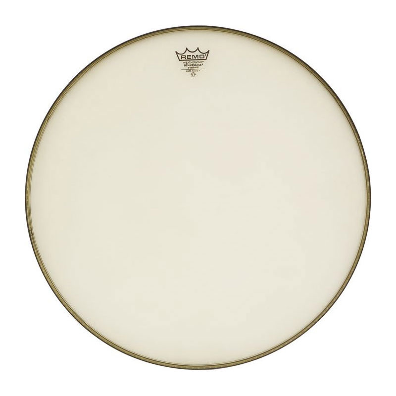 """Remo 34"""" RC-Series (Renaissance) Clear Timpani Head with Low-Profile Steel Insert Ring"""