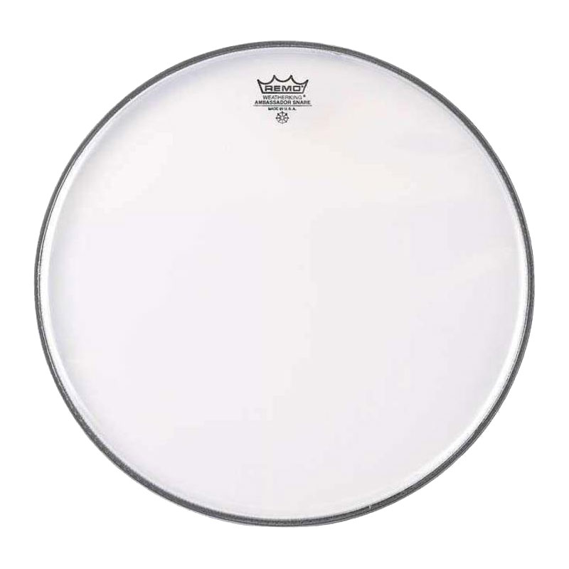 "Remo 10"" Ambassador Hazy Snare Side (Bottom) Drum Head"