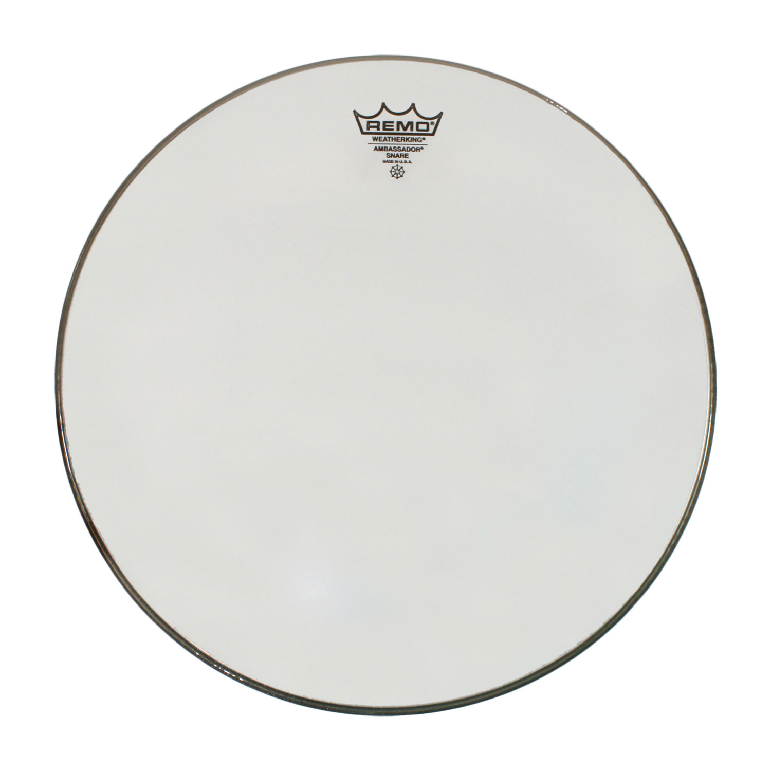 "Remo 14"" Ambassador Hazy Snare Side (Bottom) Drum Head"