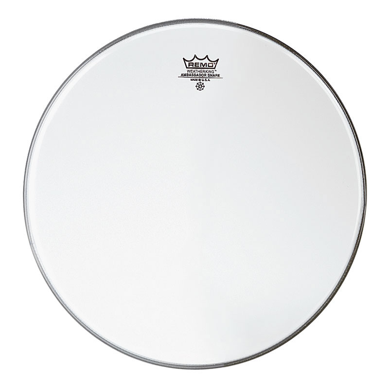 "Remo 15"" Ambassador Hazy Snare Side (Bottom) Drum Head"