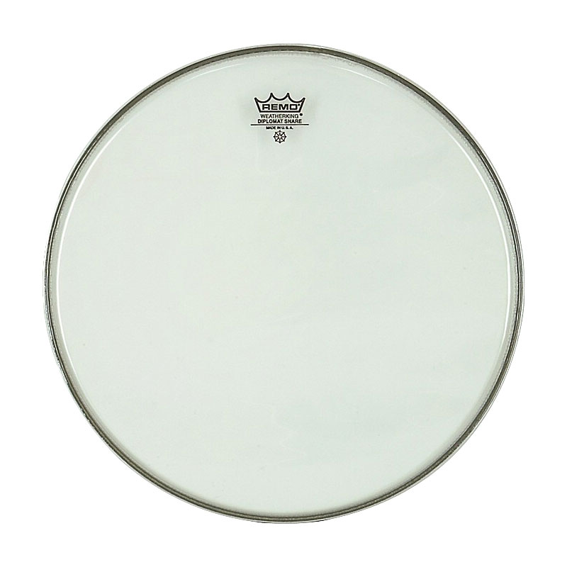 "Remo 12"" Diplomat Hazy Snare Side (Bottom) Drum Head"