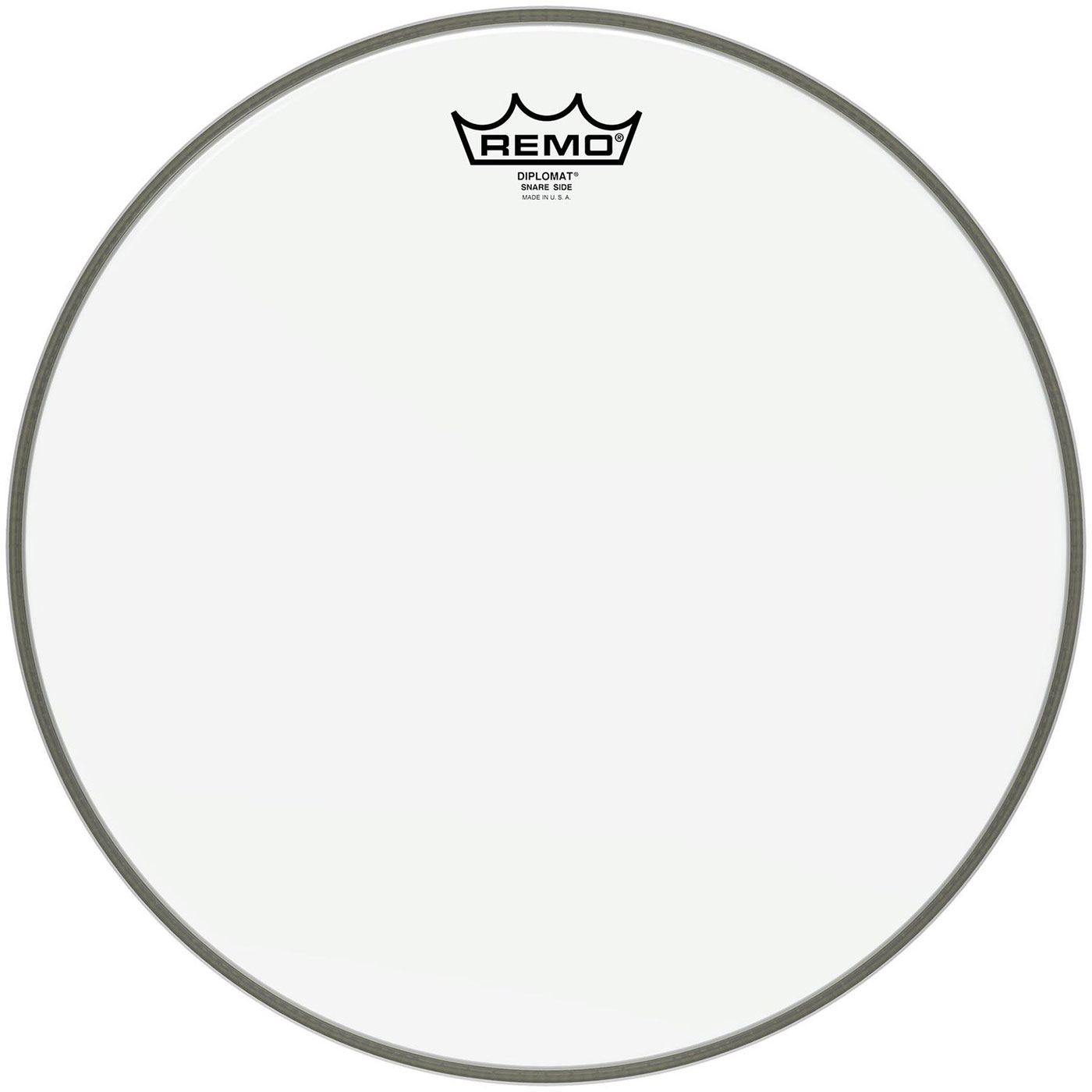 "Remo 13"" Diplomat Hazy Snare Side (Bottom) Drum Head"