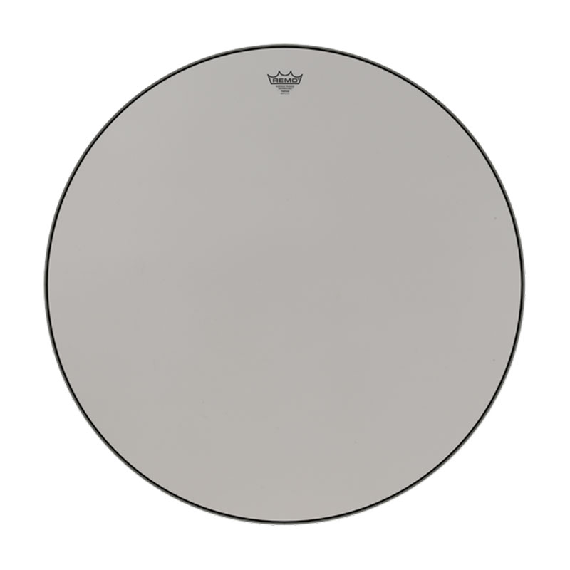 """Remo 34"""" ST-Series (Surface Tension) Suede Hazy Timpani Head with Low-Profile Steel Insert Ring"""